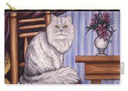 Pewter The Cat Carry-all Pouch