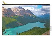 Peyto Lake Along Icefield Parkway In Alberta-canada Carry-all Pouch