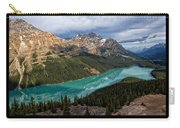 Peyto Lake Poster Carry-all Pouch