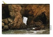Pfeiffer Beach Rocks In Big Sur Carry-all Pouch