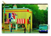 Pfk Poulet Frit Kentucky Kfc Sherbrooke And Decarie Montreal Art Restaurant Scenes Carole Spandau Carry-all Pouch