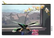 Phalaenopsis Orchid In Sunny Window Carry-all Pouch
