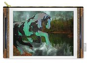 Phantom On The Lake Carry-all Pouch by Betsy Knapp