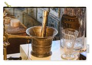 Pharmacist - Brass Mortar And Pestle Carry-all Pouch