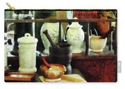 Pharmacist - Mortar Pestles And White Jars Carry-all Pouch