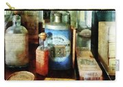 Pharmacy - Cough Remedies And Tooth Powder Carry-all Pouch