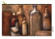 Pharmacy - Indigestion Remedies Carry-all Pouch by Mike Savad