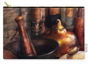 Pharmacy - Pestle - Pharmacology Carry-all Pouch by Mike Savad