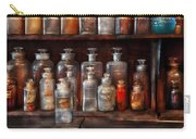 Pharmacy - The Chemistry Set Carry-all Pouch by Mike Savad