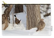Pheasant Pair Carry-all Pouch