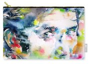 Phil Ochs - Watercolor Portrait Carry-all Pouch