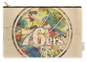 Philadelphia 76ers Retro Poster Carry-all Pouch