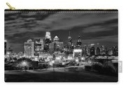 Philadelphia Black And White Cityscape Carry-all Pouch