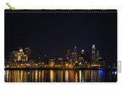 Philadelphia - Bright Lights Big City Carry-all Pouch by Bill Cannon