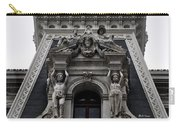 Philadelphia City Hall Dormer Window Carry-all Pouch by Bill Cannon