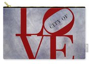Philadelphia City Of Brotherly Love  Carry-all Pouch