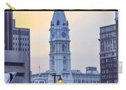 Philadelphia Cityhall In The Morning Carry-all Pouch