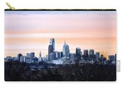 Philadelphia From Belmont Plateau Carry-all Pouch by Bill Cannon