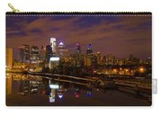 Philadelphia On The Schuylkill At Night Carry-all Pouch