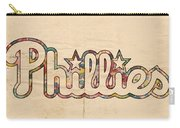 Philadelphia Phillies Poster Art Carry-all Pouch