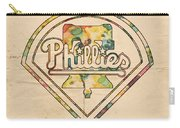 Philadelphia Phillies Poster Vintage Carry-all Pouch