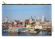 Philadelphia River View Carry-all Pouch by Bill Cannon