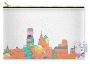 Philadelphia Watercolor Cityscape Carry-all Pouch
