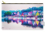 Philadelphia's Boathouse Row On The Schuylkill River Carry-all Pouch