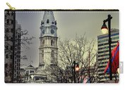 Philadelphia's Iconic City Hall Carry-all Pouch by Bill Cannon