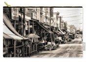 Philadelphia's Italian Market Carry-all Pouch by Bill Cannon