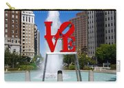 Philadelphia's Love Park Carry-all Pouch