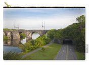 Philadelphia's Rock Tunnel - Kelly Drive Carry-all Pouch