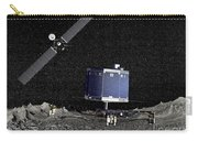 Philae Lander On Surface Of A Comet Carry-all Pouch