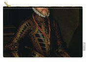 Philip II Of Spain C.1570 Carry-all Pouch