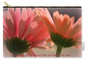Philippians 4 5 Gerber Daisies Carry-all Pouch