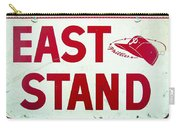 Phillies East Stand Sign - Connie Mack Stadium Carry-all Pouch