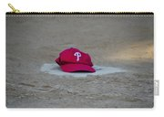 Phillies Hat On Home Plate Carry-all Pouch