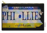 Phillies License Plate Map Carry-all Pouch
