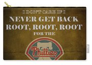 Phillies Peanuts And Cracker Jack  Carry-all Pouch by Movie Poster Prints