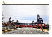 Phillies Stadium - Citizens Bank Park Carry-all Pouch by Bill Cannon