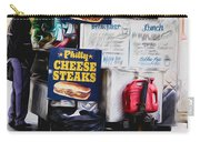 Philly Cheese Steak Cart Carry-all Pouch