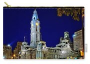 Philly City Hall At Night Carry-all Pouch