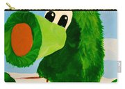Philly Phanatic Carry-all Pouch by Trish Tritz