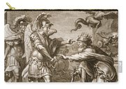 Phineus Is Delivered From The Harpies Carry-all Pouch