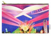 Phish New Years In New York Middle Carry-all Pouch by Joshua Morton