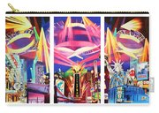 Phish New York For New Years Triptych Carry-all Pouch by Joshua Morton