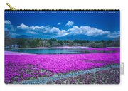 Phlox And Mt. Fuji Carry-all Pouch