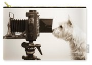 Pho Dog Grapher Carry-all Pouch by Edward Fielding