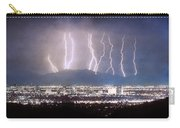 Phoenix Arizona City Lightning And Lights Carry-all Pouch
