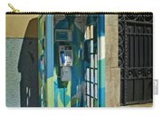 Phone Booth In Blues - Oporto Carry-all Pouch